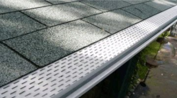 Forever Clean Gutter Guards installed by Mr Gutter - Holyoke, MA