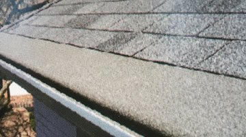 Textured Forever Clean Gutter Guards installed by Mr Gutter - Holyoke, MA